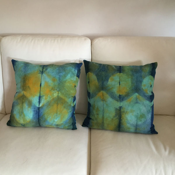 Home Decor Cushions aliexpresscom buy geometric cushion decorative pillows colorful cushions home decorcapa para almofadacojines decorativos from reliable pillow color Indigo And Procion Dyed Cushions