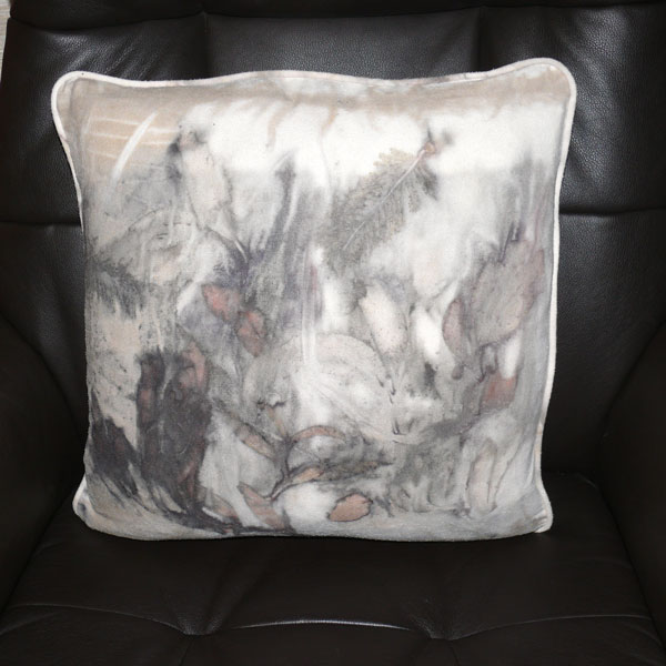 Silk Noil Cushion 2