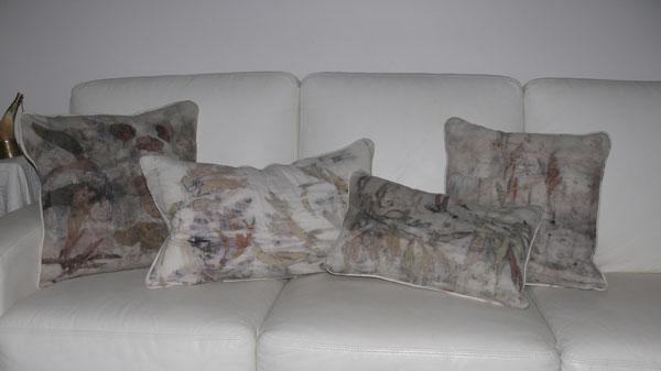 Silk Noil Cushions