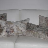 Silk-noil-cushions